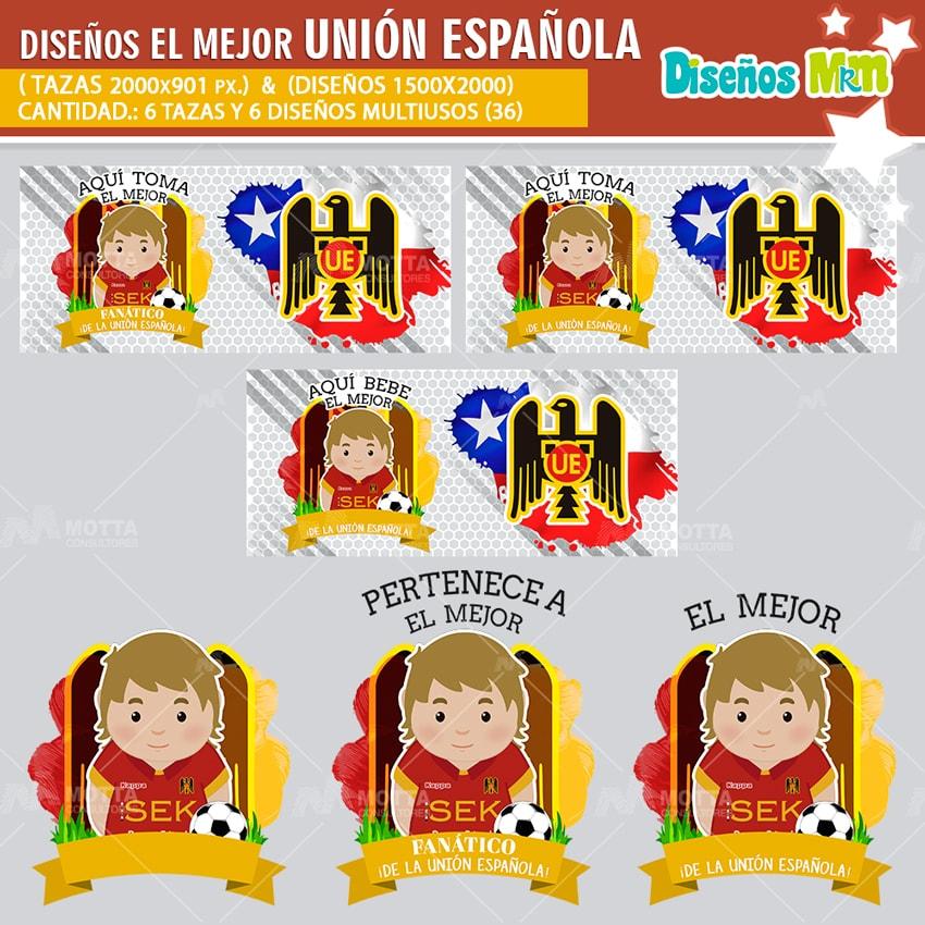 DISEÑOS AQUÍ TOMA FANÁTICO DE UNIÓN ESPAÑOLA