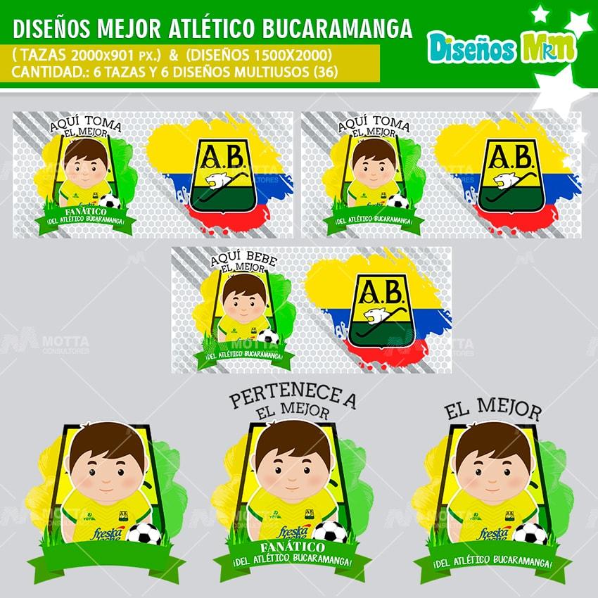 Diseños Aquí Toma Fanático Del Atlético Bucaramanga