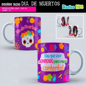 Diseños-plantillas-dibujo-mug-taza-tazones-vaso-dia-de-muertos-noviembre-2-mexico-halloween-catrina-calavera-min