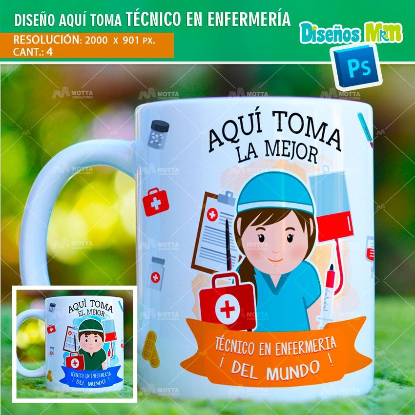 DISEÑOS AQUÍ TOMA EL MEJOR TÉCNICO DE ENFERMERÍA