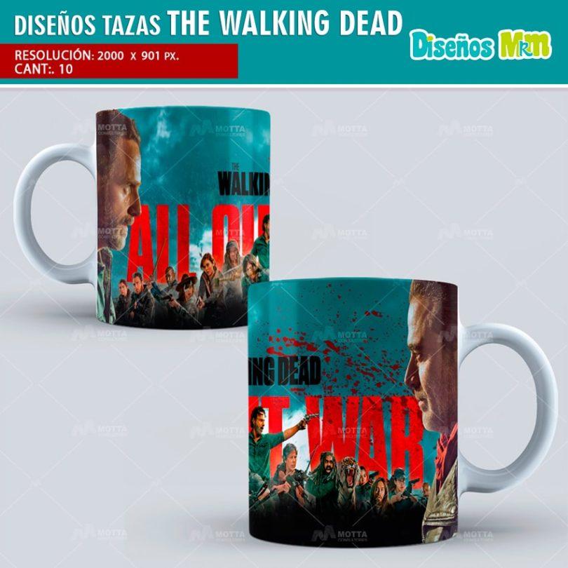 plantilla-diseño-marco-tazas-mug-design-the-walking-dead-lucille-
