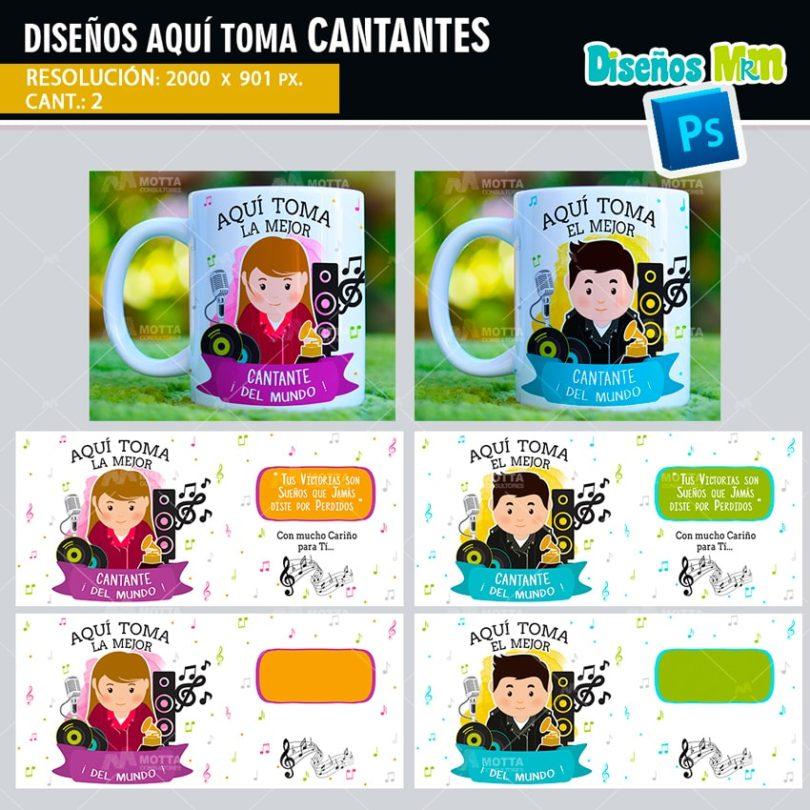 plantilla-diseño-tazas-mug-aqui-toma-bebe-el-mejor-cantante-artista-musico-pop-min