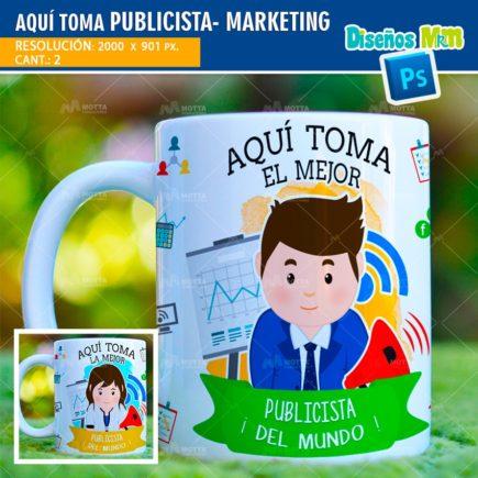 AQUÍ TOMA MEJOR PUBLICISTA-MARKETING DISEÑOS PARA TAZAS