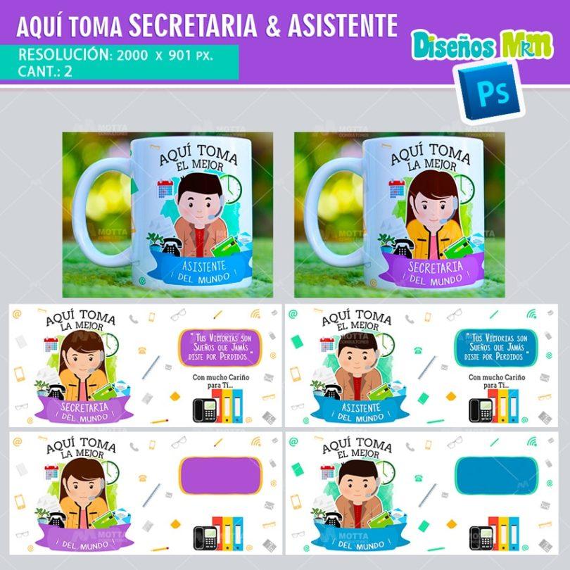 plantilla-diseño-tazas-mug-aqui-toma-bebe-secretaria-asistente-office-boy-min