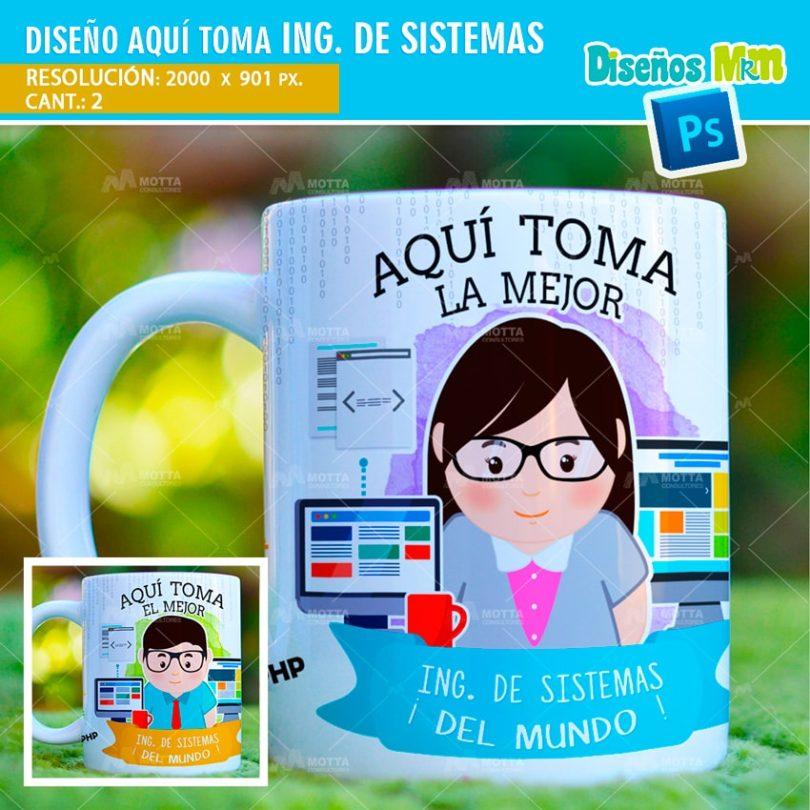 plantilla-diseño-tazas-mug-aqui-toma-ingeniero-sistemas