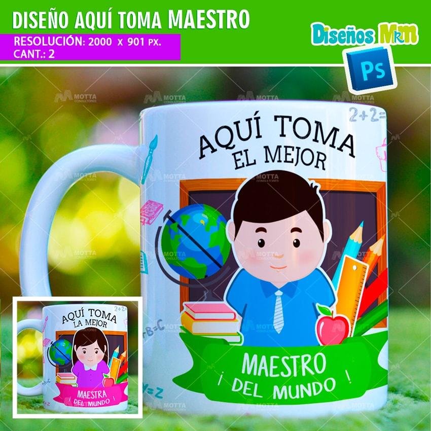 AQUÍ TOMA EL MEJOR MAESTRO