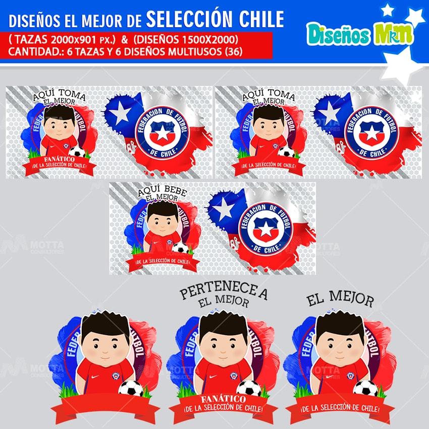 DISEÑOS AQUÍ TOMA MEJOR FANÁTICO DE LA SELECCIÓN DE CHILE