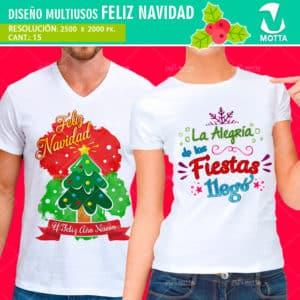 Diseños-plantillas-franelas-poleras-camisas-sublimacion-navidad-propero-año-santa-noel