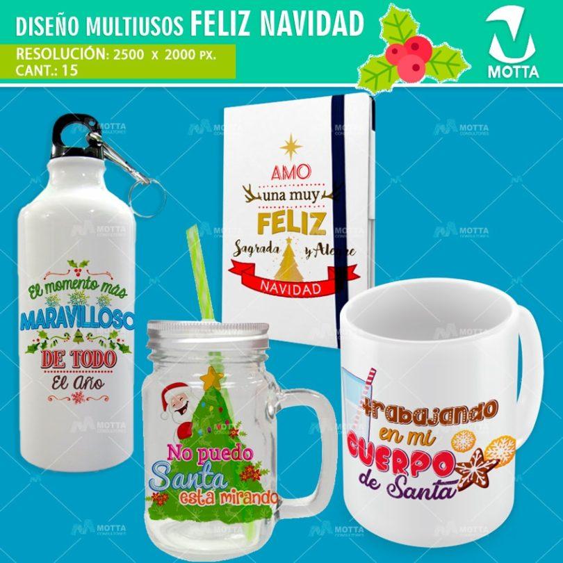 Diseños-plantillas-tazas-agenda-termo-jarra-franela-sublimacion-navidad-propero-año-santa-noel