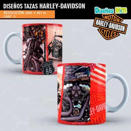 DISEÑOS SUBLIMAR TAZAS HARLEY DAVIDSON