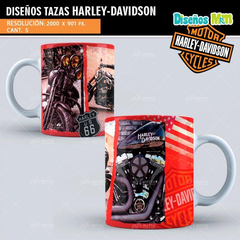 Plantilla-diseños-templates-moto-motocicleta-cycles-HARLEY-DAVIDSON-usa-motor-ruta-66-min