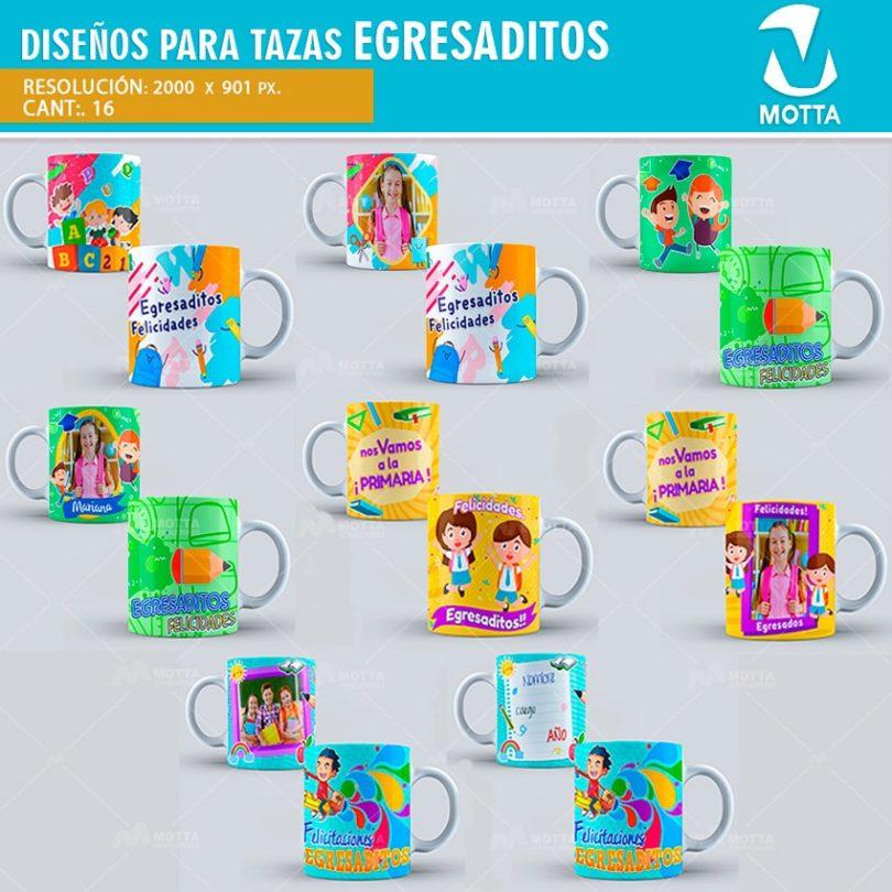 plantilla-diseño-marco-tazas-mug-egresaditos-egresados-colegio-primaria-escolar