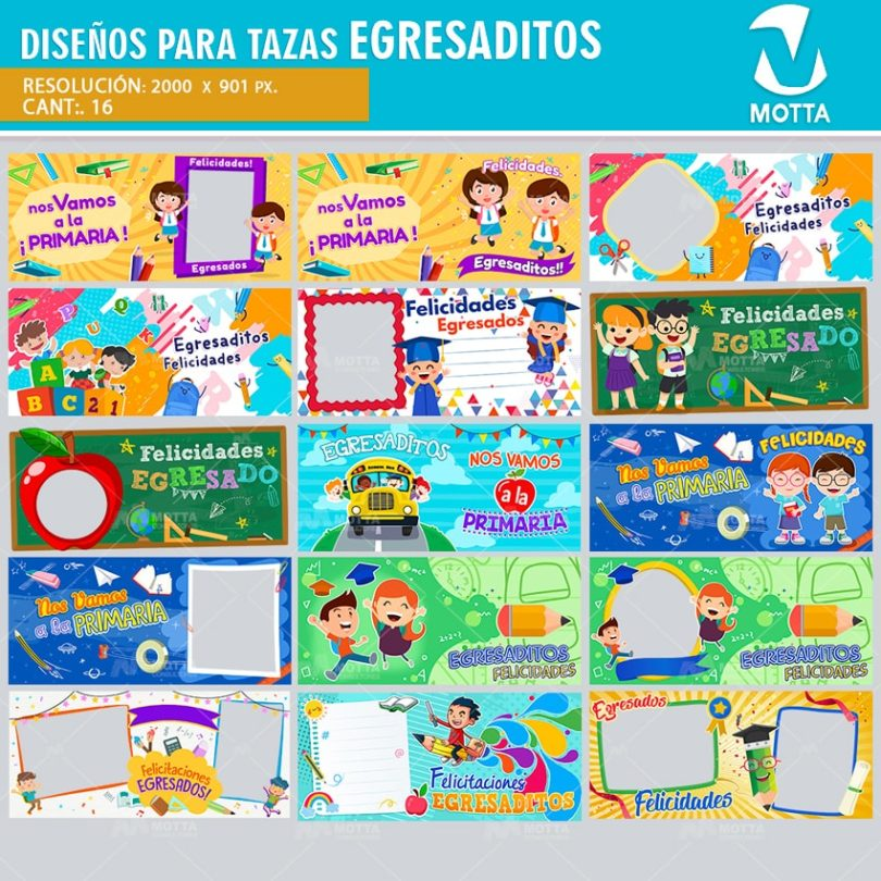 plantilla-diseño-marco-tazas-mug-egresaditos-escuela-colegio-estudiantes-transicion-preescolar