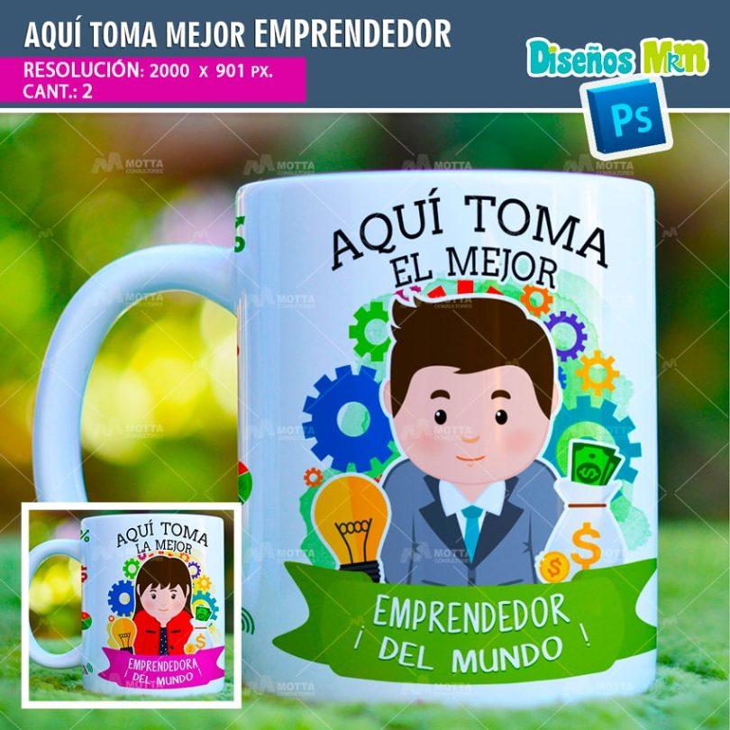 plantilla-diseño-tazas-mug-aqui-toma-bebe-emprendedor