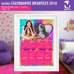 Diseños-plantillas-calendarios-almanaque-anuario-2018-impresion-infantiles-soy-luna-motta
