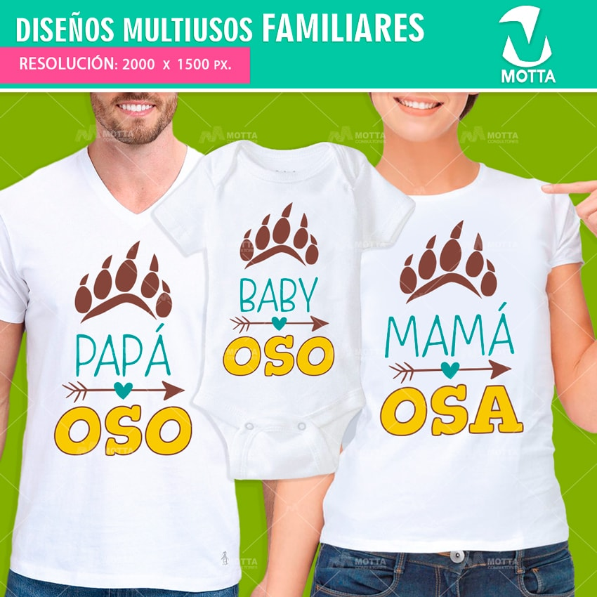 7cf2eb7b00687 DISEÑOS FAMILIARES PARA ESTAMPAR CAMISETAS