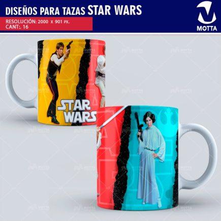 STAR WARS DISEÑOS PARA SUBLIMAR TAZAS