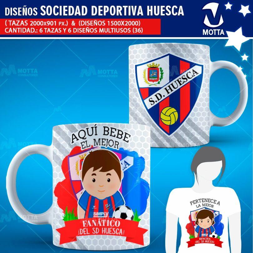 Diseños-mugs-tazas-sublimacion-profesiones-aqui-bebe-sociedad-deportiva-huesca-hincha-españa-deporte-liga