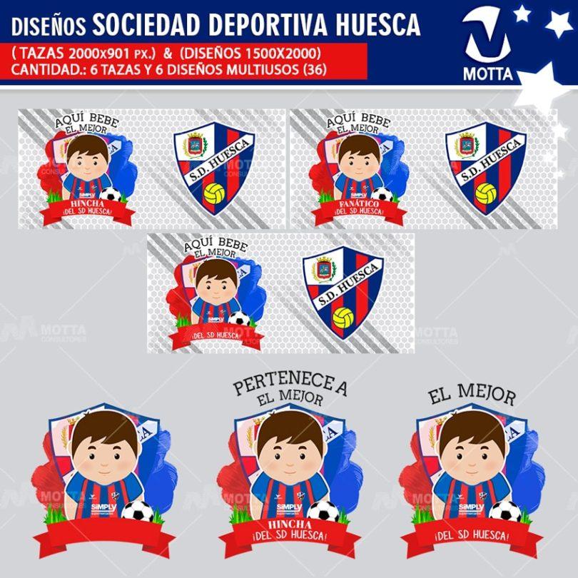 Diseños-mugs-tazas-sublimacion-profesiones-aqui-bebe-sociedad-deportiva-huesca-hincha-españa-fanatico