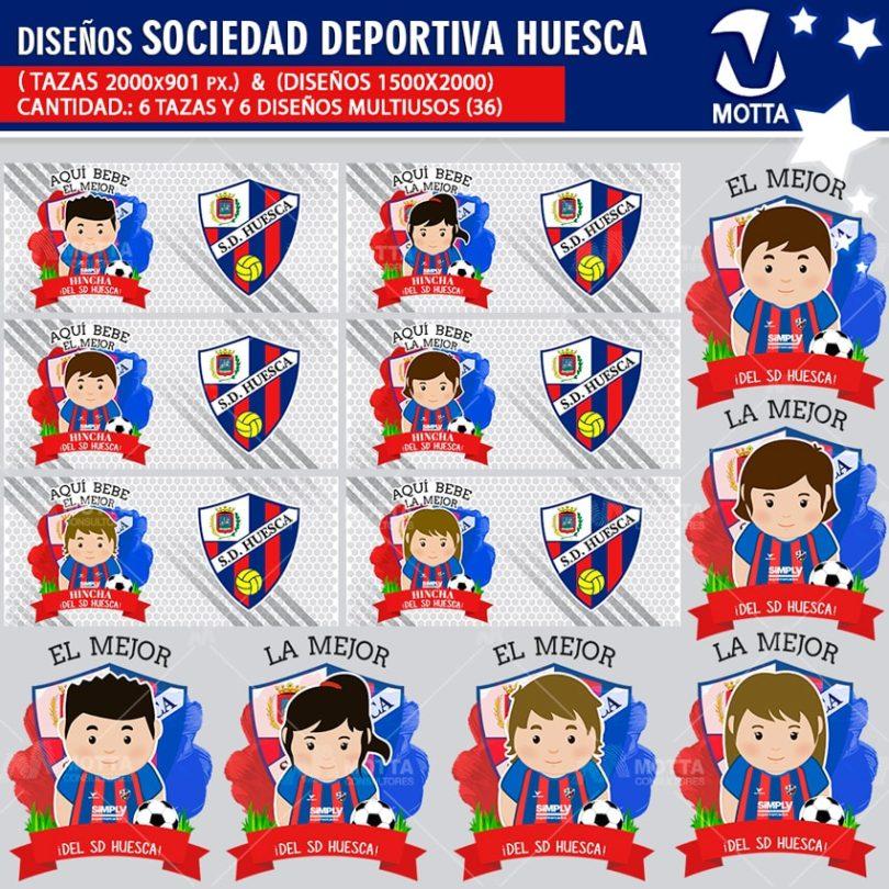 Diseños-mugs-tazas-sublimacion-profesiones-aqui-bebe-sociedad-deportiva-huesca-hincha-españa-fanatico-fanatica