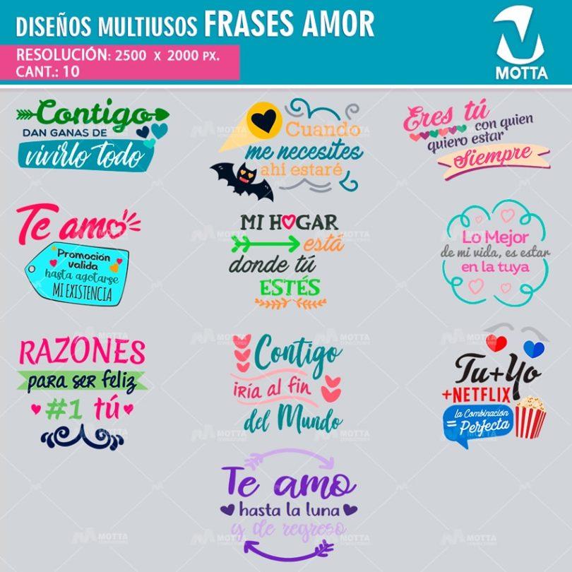 Diseños-plantillas-camisetas-poleras-multiusos-sublimacion-frases-amor-teamo-novios-pareja