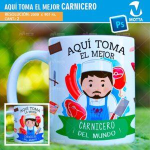 plantilla-diseño-tazas-mug-vaso-tazon-aqui-toma-carnicero