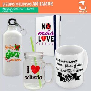 Diseños-plantillas-camisetas-poleras-multiusos-sublimacion-antiamor-solteria