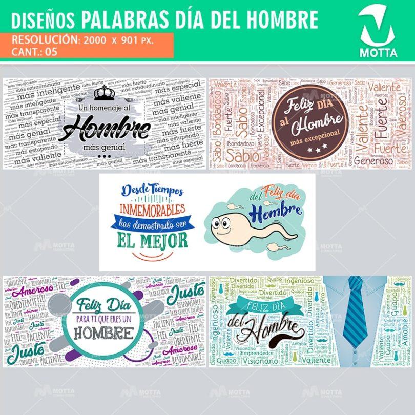 Diseños-plantillas-tazas-mug-pocillos-vasos-tazones-personalizados-sublimacion-collage-palabras-dia-internacional-hombre-mejor-genial-excepcional