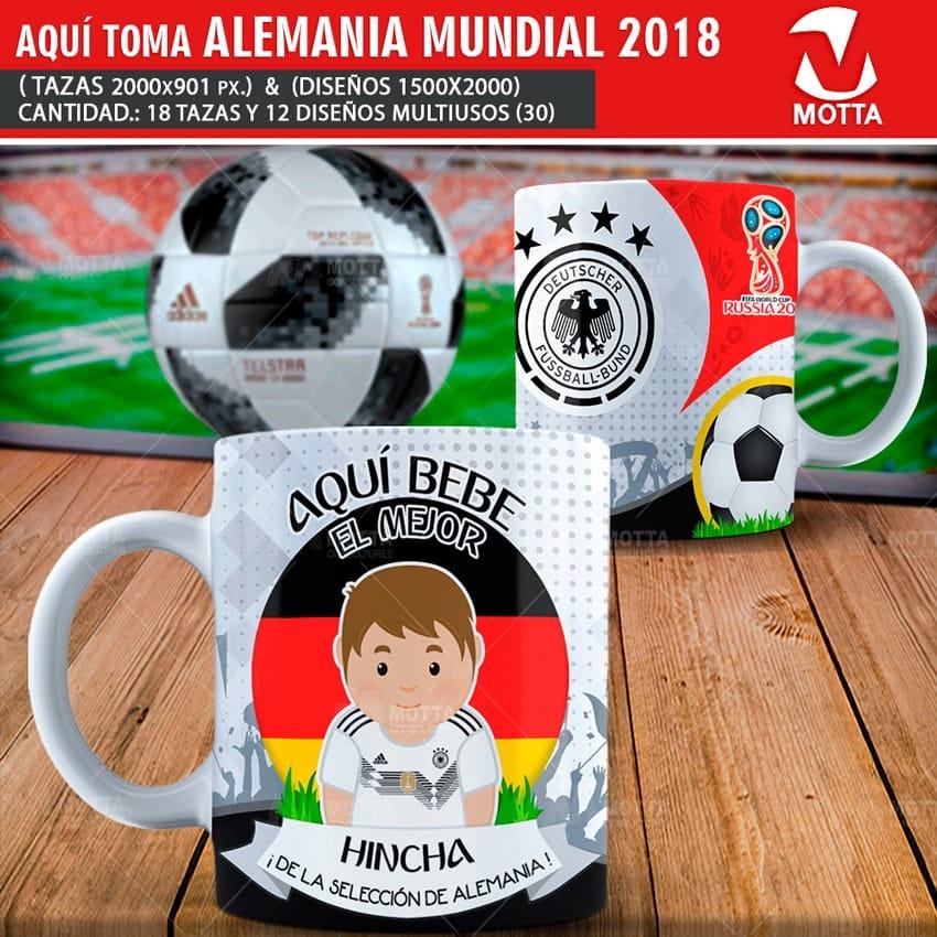 DISEÑOS AQUÍ BEBE EL MEJOR HINCHA DE ALEMANIA FIFA 2018