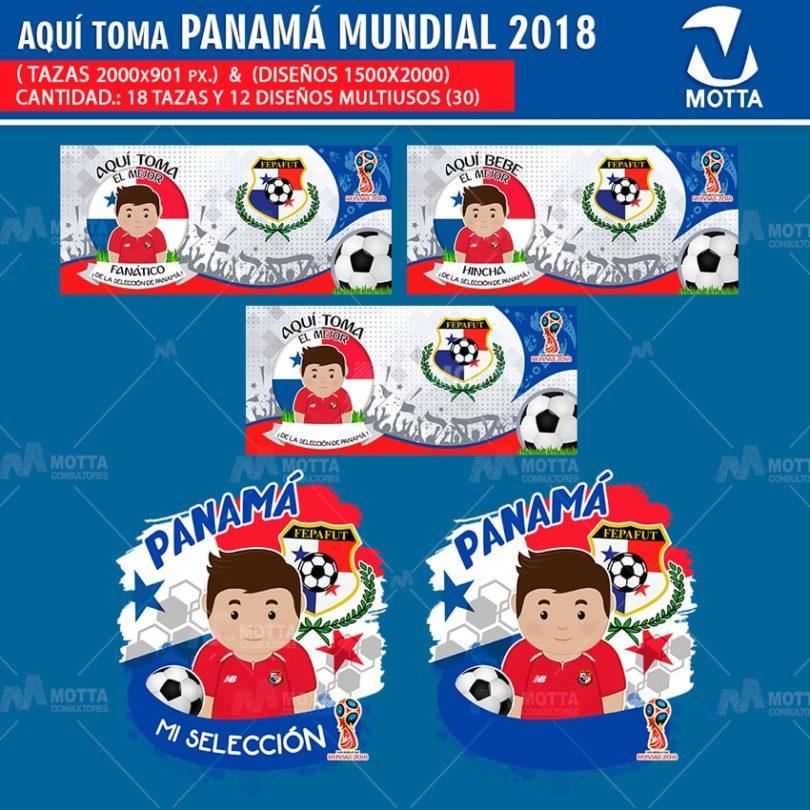 DISEÑOS AQUÍ TOMA MEJOR HINCHA DE PANAMÁ FIFA 2018