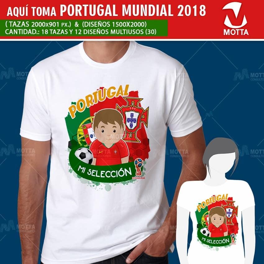 DISEÑOS AQUÍ TOMA HINCHA DE PORTUGAL EN RUSIA 2018