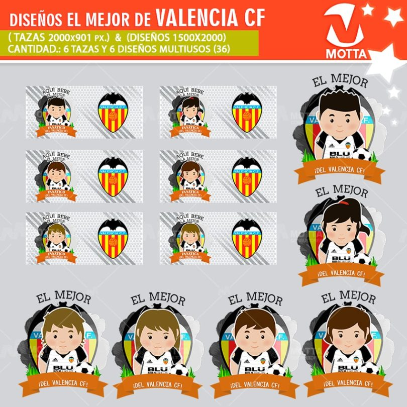 plantilla-diseño-design-tazas-mugs-personalizados-aqui-toma-bebe-fanatica-valencia-cf-españa-multiusos-deporte-futbol