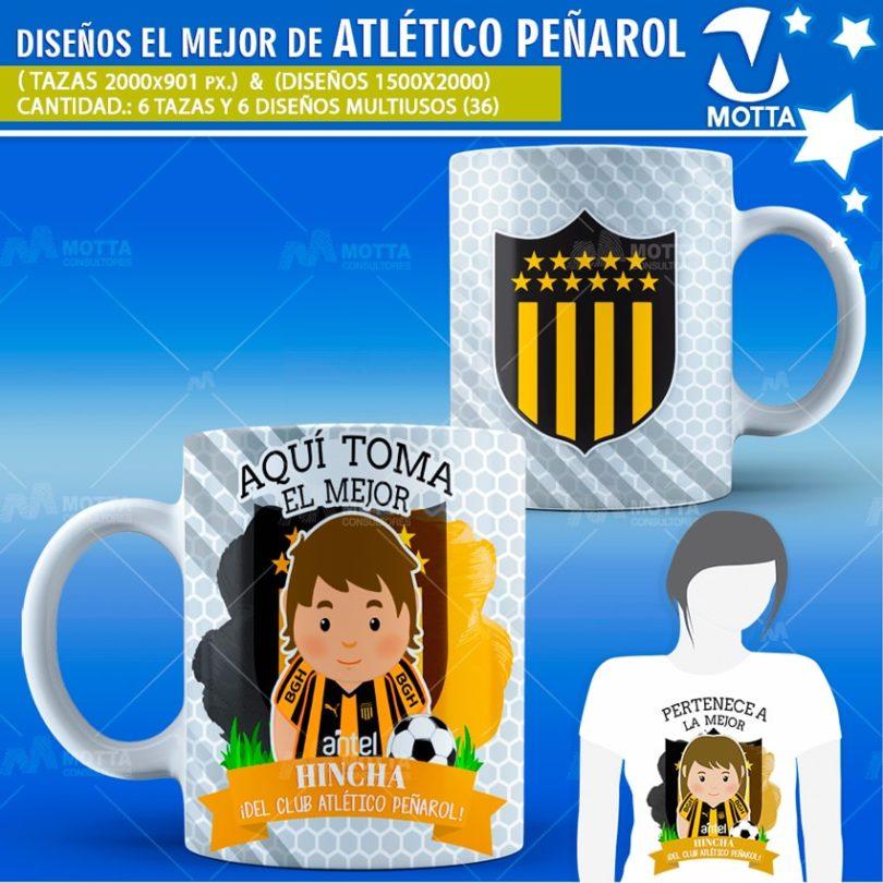 plantilla-diseño-multiusos-tazas-mugs-aqui-toma-bebe-fanatico-atletico-peñarol-uruguay-futbol-deporte