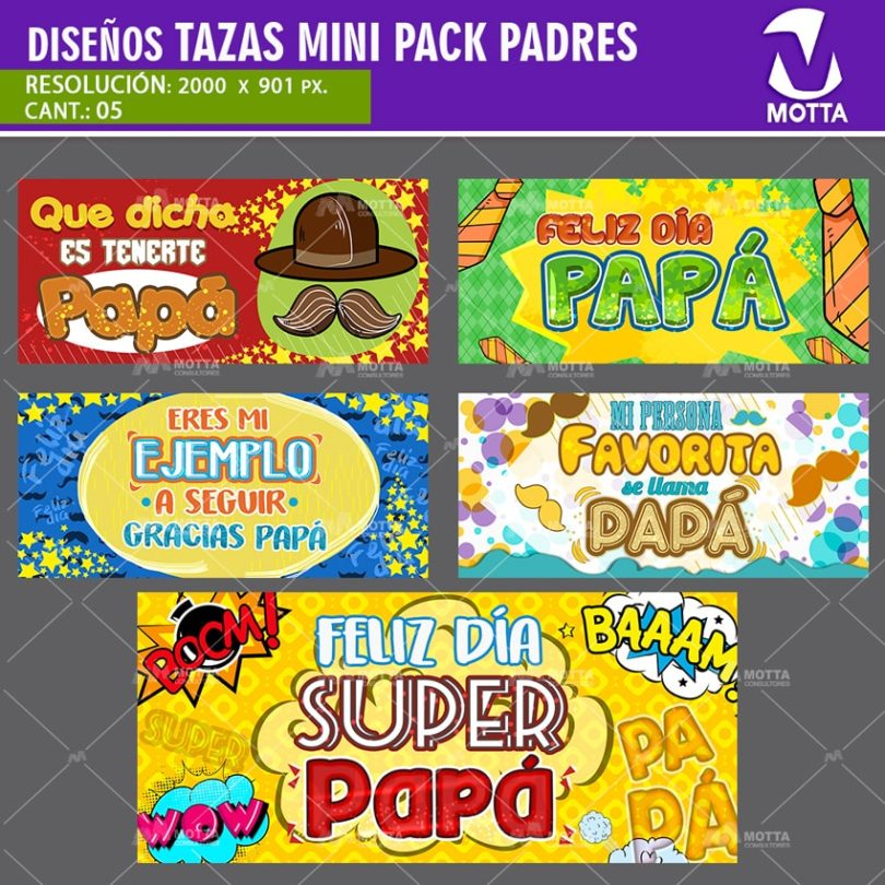 Diseños-plantillas-tazas-mug-papa-superpapa-gracias-feliz-dia-padre
