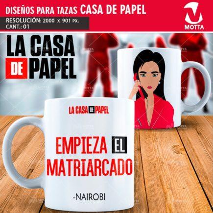 DISEÑO PARA TAZA EMPIEZA EL MATRIARCADO