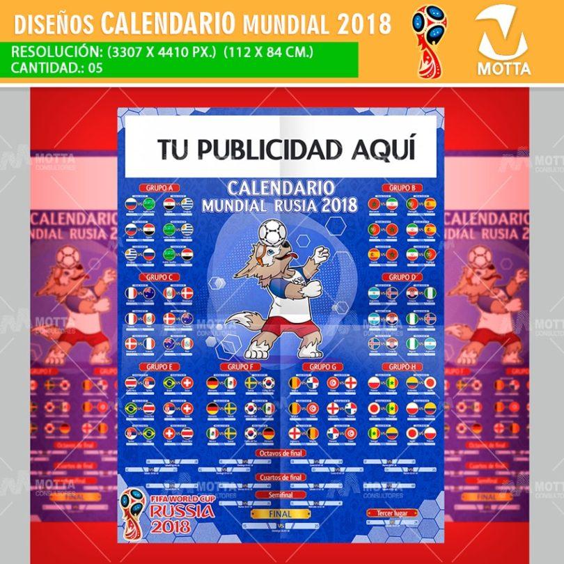 Calendario Mundial Futbol.Calendario Mundial Rusia 2018 Para Imprimir Y Registrar Resultados