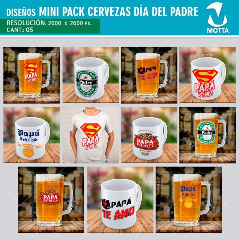 Diseños-plantillas-tazas-camisetas-mug-cervezas-padres-teamo-papa-superpapa-felizdia