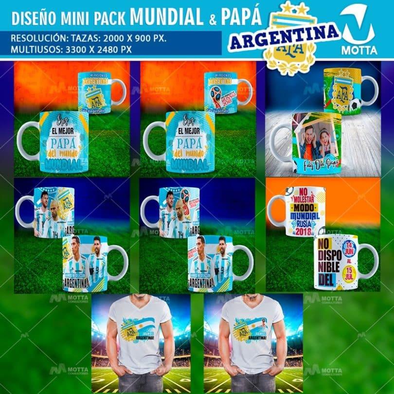 Diseños-plantillas-templates-mug-tazas-mug-camiseta-polera-selección-argentina-mundial-rusia-messi-angel-di-maria