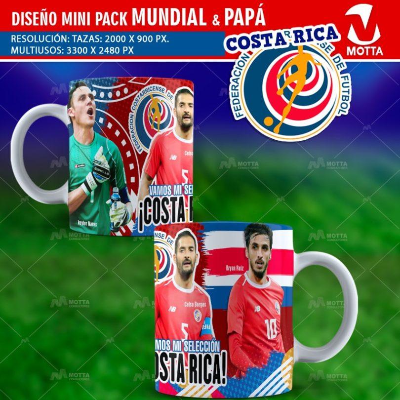Diseños-plantillas-templates-mug-tazas-mug-camiseta-selección-costa-rica-mundial-rusia-keylor-celso-bryan