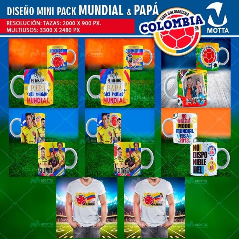 Diseños-plantillas-templates-mug-tazas-vasos-camiseta-selección-colombia-mundial-rusia-james-cuadrado-ospina