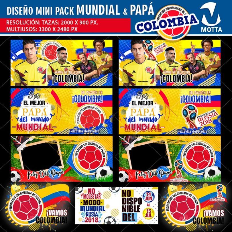 Diseños-plantillas-templates-mug-tazas-vasos-camiseta-selección-colombia-mundial-rusia-james-ospina-falcao