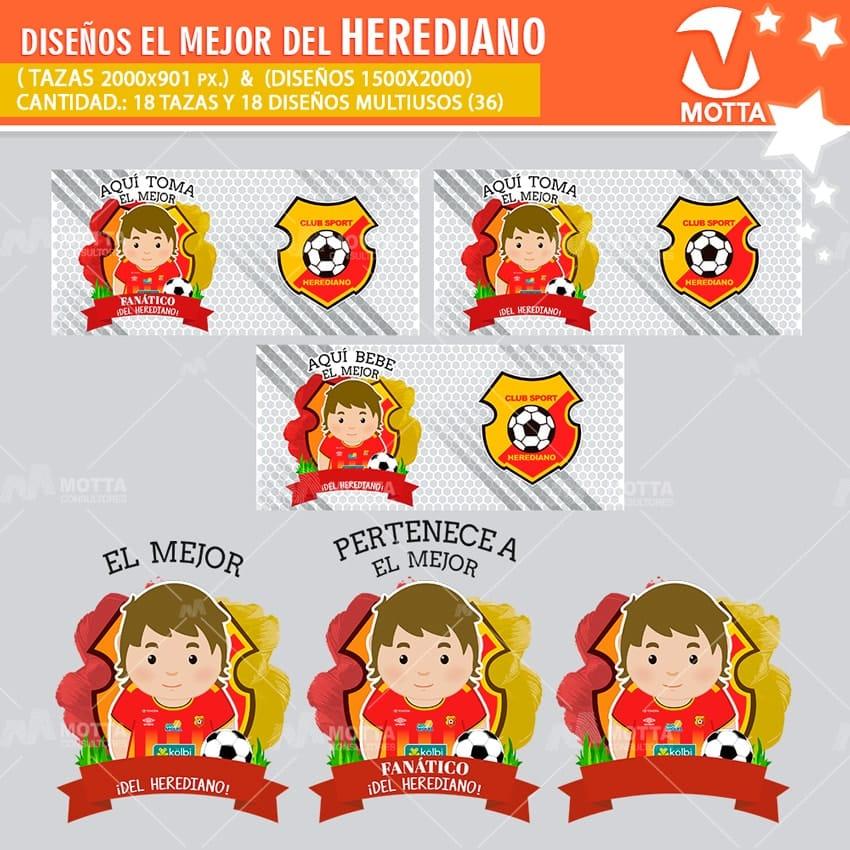 DISEÑOS AQUÍ TOMA FANÁTICO DEL HEREDIANO DE COSTA RICA