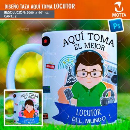 DISEÑOS PARA SUBLIMAR TAZAS AQUÍ TOMA LOCUTOR
