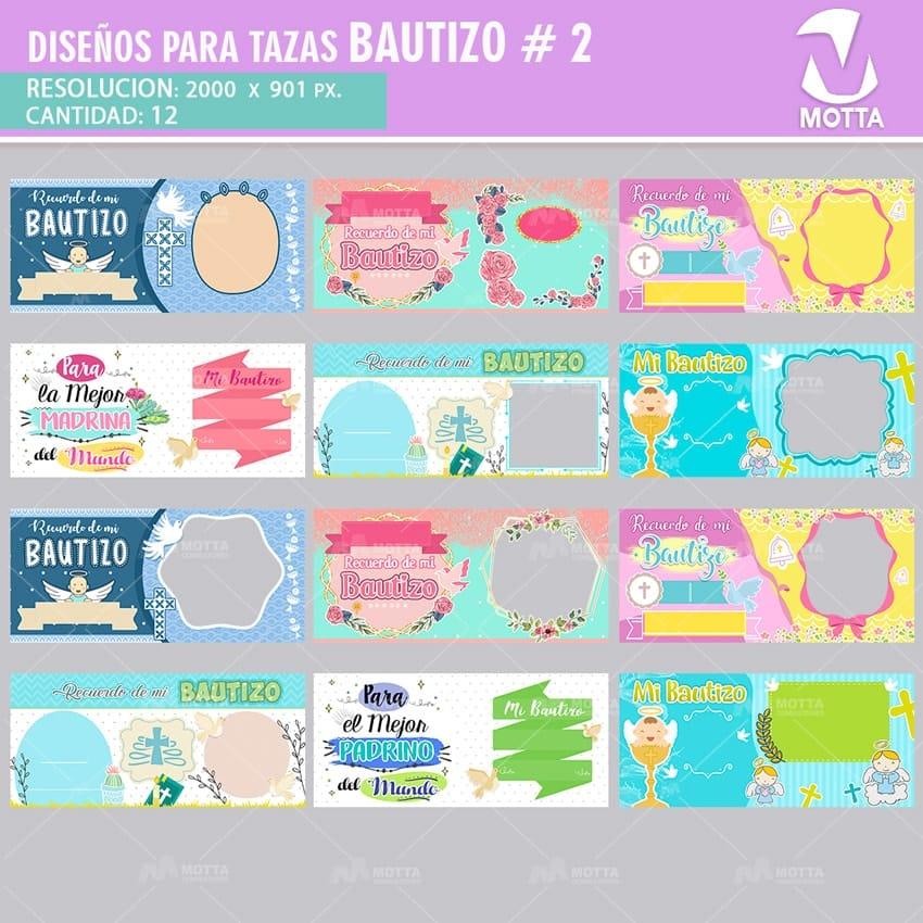 Diseños Para Sublimar Tazas Bautizo Mottaconsultores