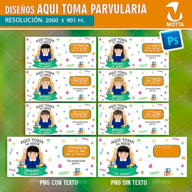 PLANTILLAS PARA TAZONES DE PARVULARIA AZUL MARINO