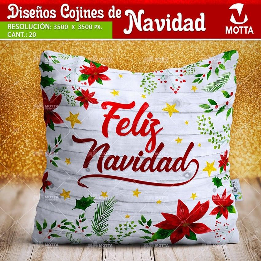 Dise os de navidad para cojines y almohadas - Cojines de diseno ...