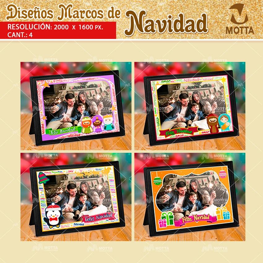 MARCOS FOTOGRÁFICOS DE NAVIDAD GRATIS