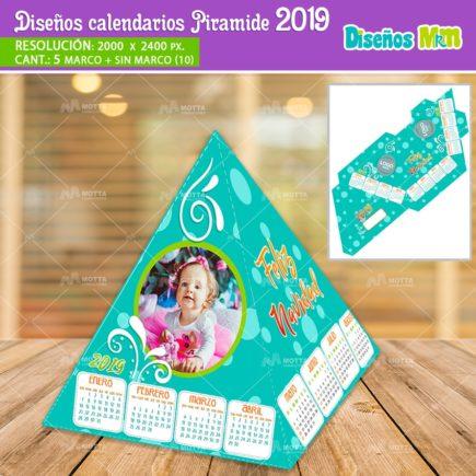 DISEÑOS DE CALENDARIOS 2019 GRATIS EN PIRÁMIDE