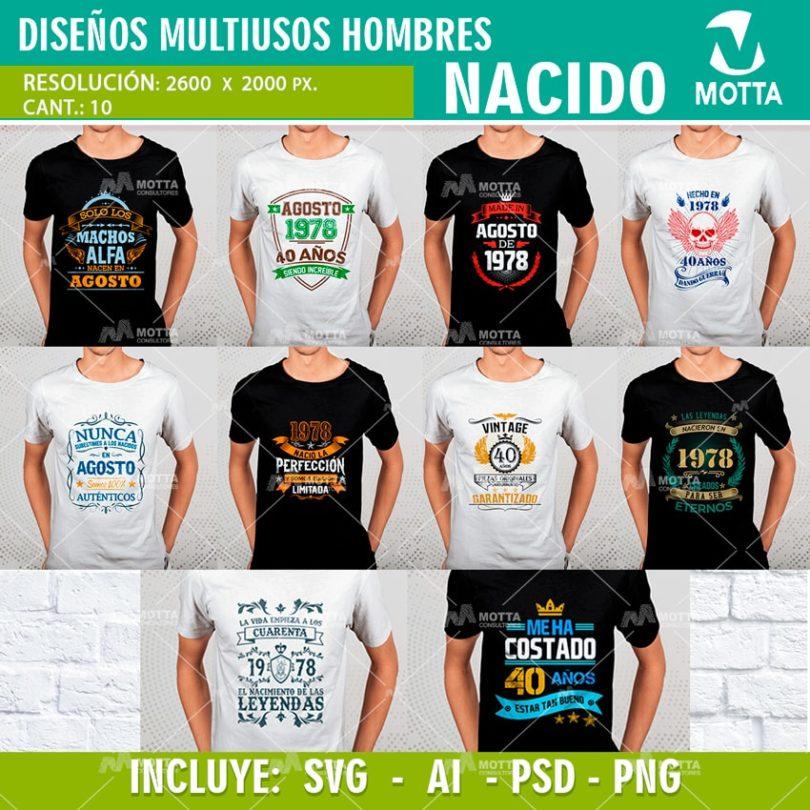 DISEÑOS PARA CAMISETAS DE CUMPLEAÑOS DE NACIDO