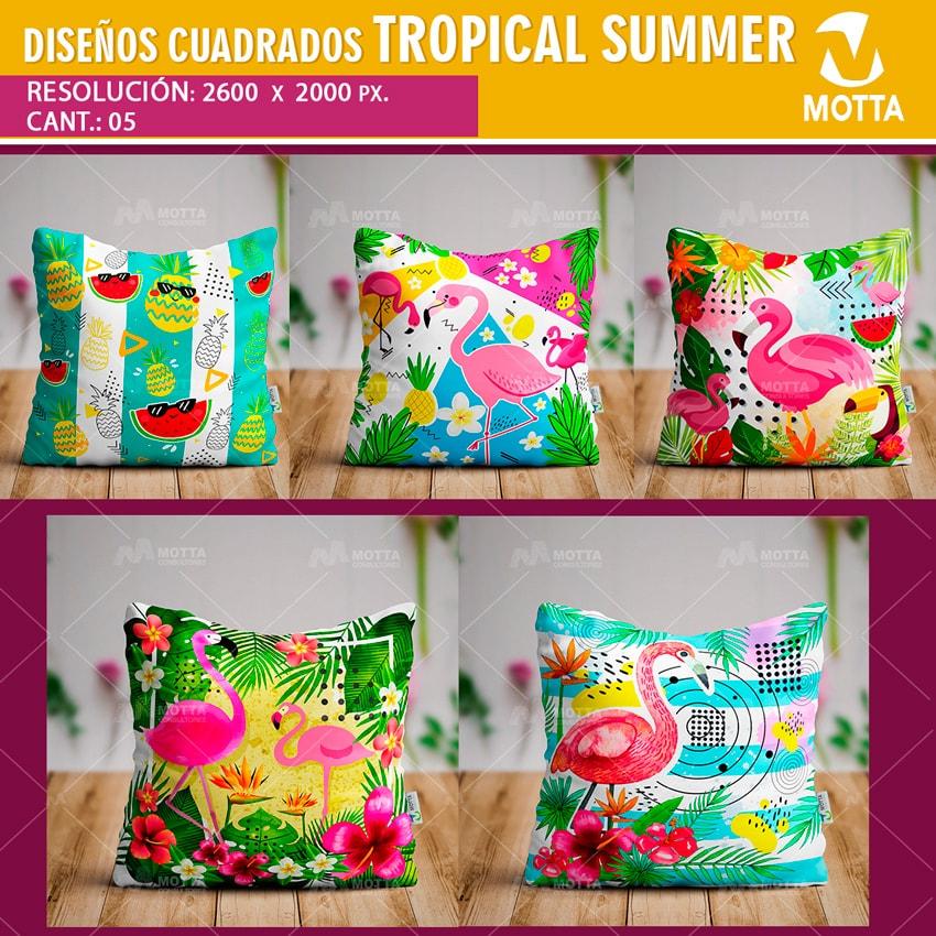 Dise os para cojines y almohadas de tropical summer - Cojines de diseno ...